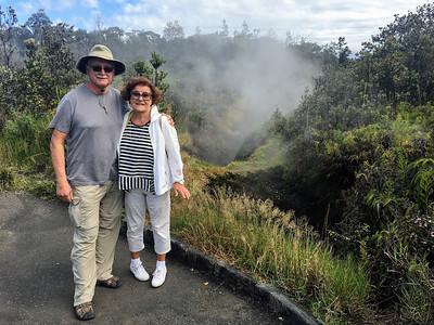 Steam vents in Hawaii Volcanoes National Park.