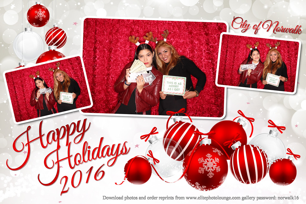 2016.12.16 City of Norwalk Holiday Party (Booth Pics)