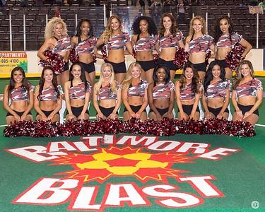 2016-17 Baltimore Blast Cheerleaders