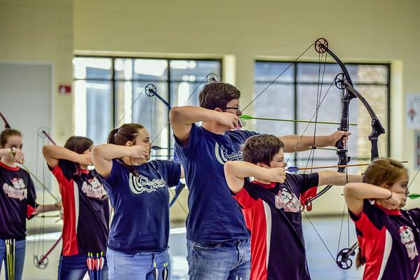 Archery @ Woodlawn 1-28-17