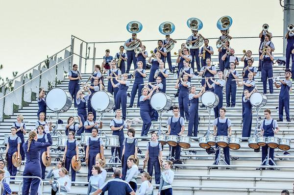 Band vs Coosa 8-26-16
