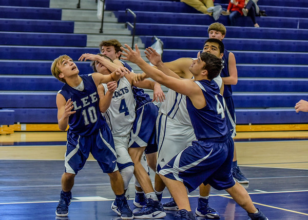 JV Boys vs G Lee 12-22-16