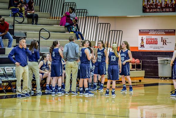 Varsity Girls vs Lafayette 1-3-17