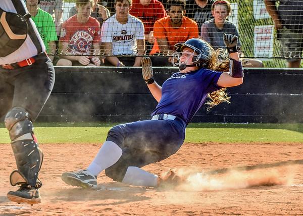 Creek Softball vs Sonoraville 8-16-16