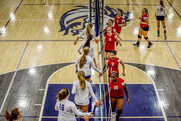 Creek Varsity vs Dalton (Volley @ Creek) 9-10-16