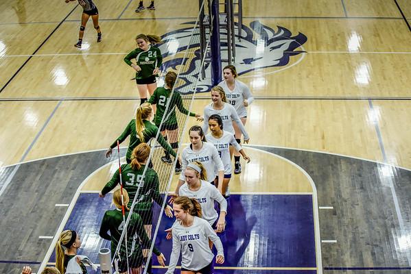 Creek Varsity vs Murray (Volley @ Creek) 9-10-16