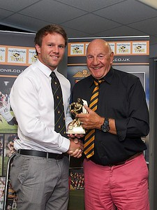 May POTM Geraint O'Driscoll with Paul Watts