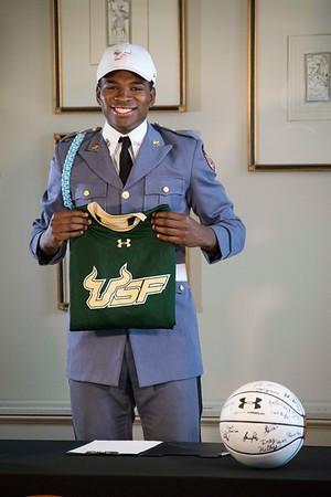 Justin Brown - University of South Florida Signing 041317