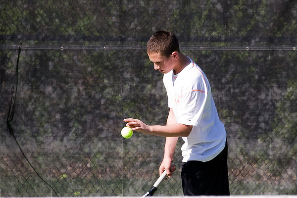 Tennis v North Cross School 041117