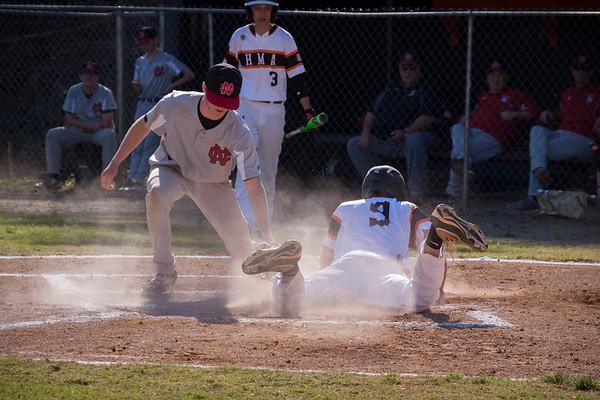 Varsity Baseball Vs North Cross 041117