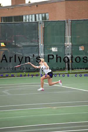 Girls Tennis vs Delano
