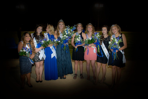 2016 Homecoming parade and court