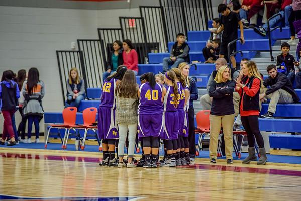7th Girls vs Eastbrook 1-5-17