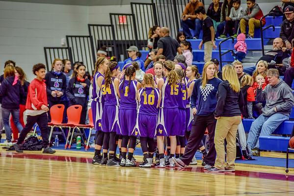 8th Girls vs Eastbrook 1-5-17