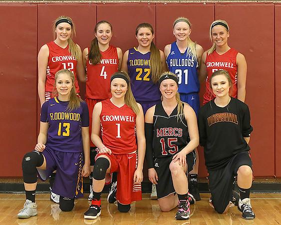 2017 Polar League Basketball All-Stars