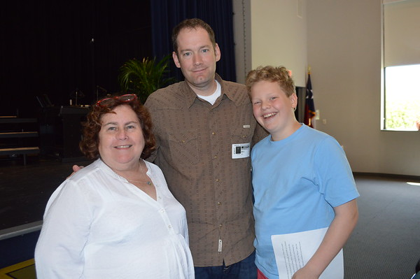 Visit from author Brandon Mull