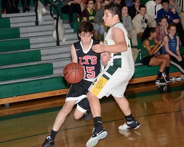 2016 LTS JV Boys Basketball vs WR photos by Gary Baker