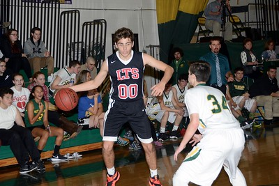 2016 LTS Varsity Boys Basketball vs WR photos by Gary Baker
