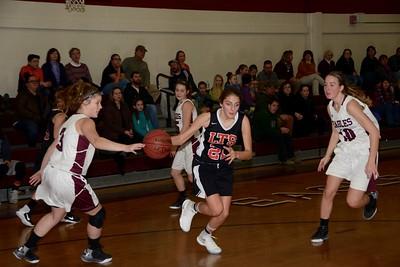 2017 LTS Girls Varsity Basketball vs Arlington photos by Gary Baker