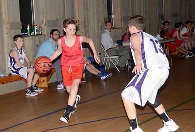 2017 LTS M.S. Boys Basketball vs Maple Street photos by Gary Baker