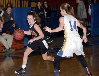 2017 LTS Varsity Girls Basketball vs Poultry photos by Gary Baker