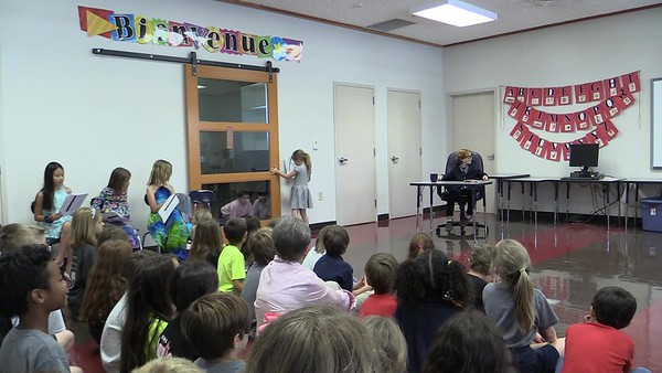 "2nd grade Robert Munsch play ""Pigs"" 5.19.2017"