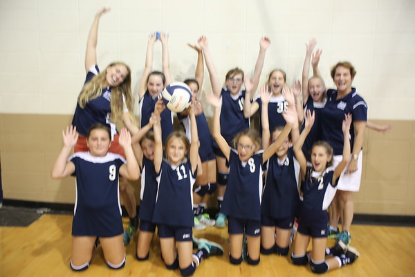 5th Grade Volleyball