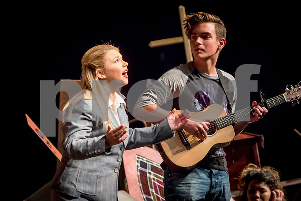 2016-17 One Act Performance - Godspell
