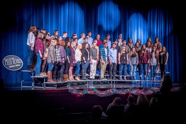 2016 BHS Chorus Sings For Mark Lowry
