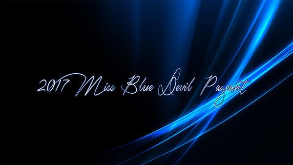 2017 Miss Blue Devil Pageant