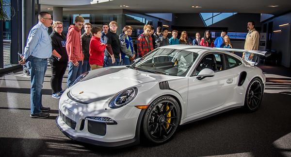 Bremen High Engineering Visits Porsche Atlanta