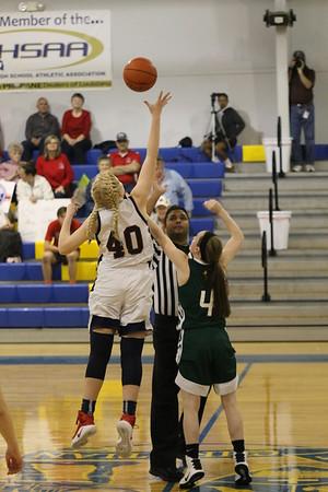 Girls Basketball (2nd round playoffs)