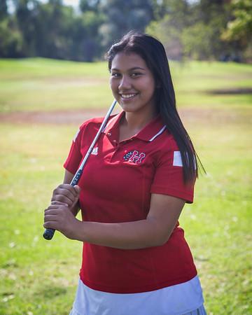 Girls' Golf Team & Individual Photos