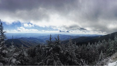 Clingmans Dome looking into North Carolina