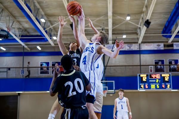 2016-17 BHS Basketball vs Calhoun