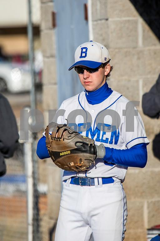 2017 BHS Baseball vs Bowdon