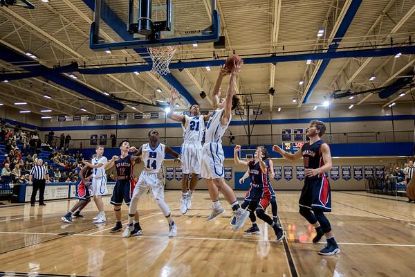 2017 BHS Basketball vs Haralson County