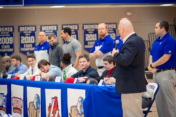 2017 BHS National Signing Day 2