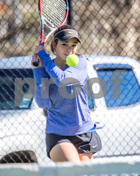 2017 BHS Tennis vs Sonoraville