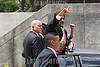 Venezuela : June 24, 2013 The venezuelan president Nicolas Maduro (c) and his wife Cilia Flores (c-r) arrive at Campo de Carabobo / Venezuela :  Nicolas Maduro in Carabobo © Juan Carlos Hernandez/LATINPHOTO.org