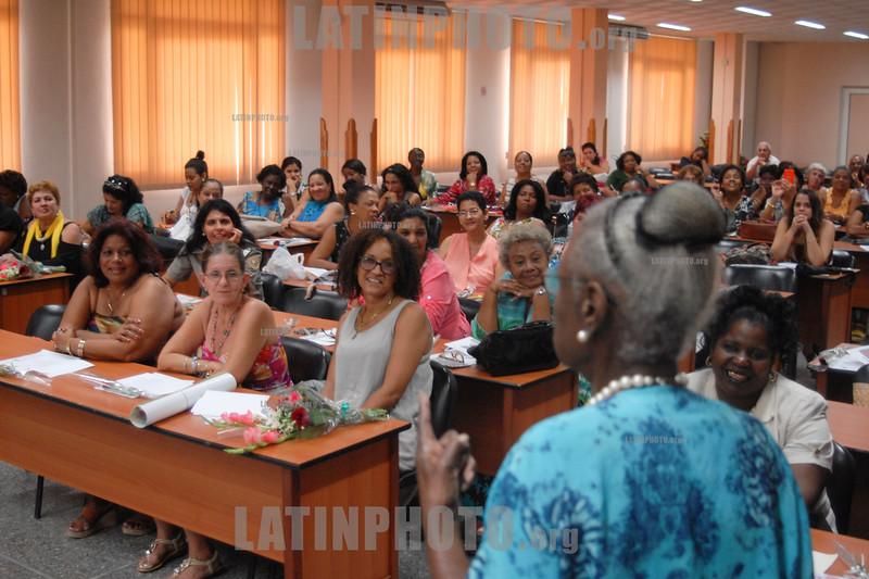 Cuba : Mujeres destacadas en la producción - Central de Trabajadores de Cuba - 23 de marzo de 2017 / Kuba :  Tagung für Frauen © Agustín Rey Borrego Torres/LATINPHOTO.org