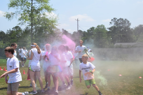Middle School Color Run 2017