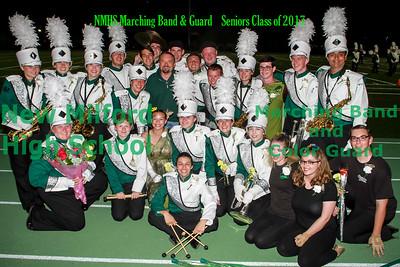 NMHS Band & Guard SENIORS!