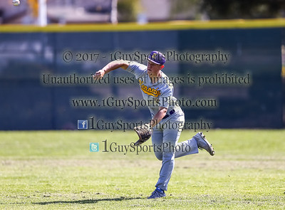 Men's Varsity Baseball, Kennedy vs Mission San Jose on March 29 2017 in Fremont  at Kennedy High School