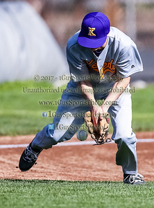 Men's Varsit Baseball, Kennedy vs Campolindo on March 7 2017 in Fremont California at Kennedy High School