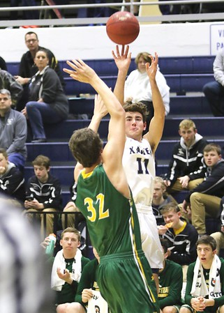 Dubuque Hempstead vs. Xavier Boys Basketball 1/20/17