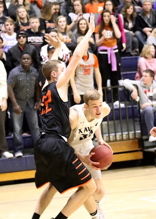Prairie vs. Xavier Boys 'Basketball 2/3/17