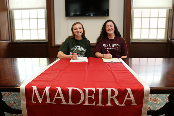 College Commitment - Alexa Zartman-Ball (Sarah Lawrence), Hannah Adams (MIT)