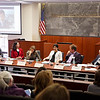 GWLAW, Grodsky Prize, Moot Court room<br /> J.B. & Maurice C. Shapiro Environmental Law Symposium Grodsky Prize