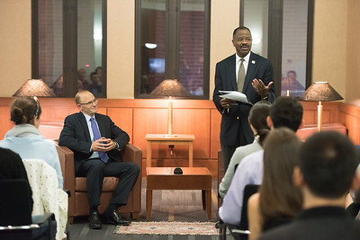 September 29: Conversation with the Dean featuring Gregory Garre, JD '91
